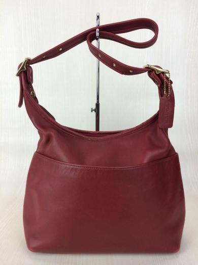43a4821faf88 COACH. ハンドバッグ/レザー/RED/革/赤/カバン/鞄/BAG/ショルダーバッグ/オールド/USA/