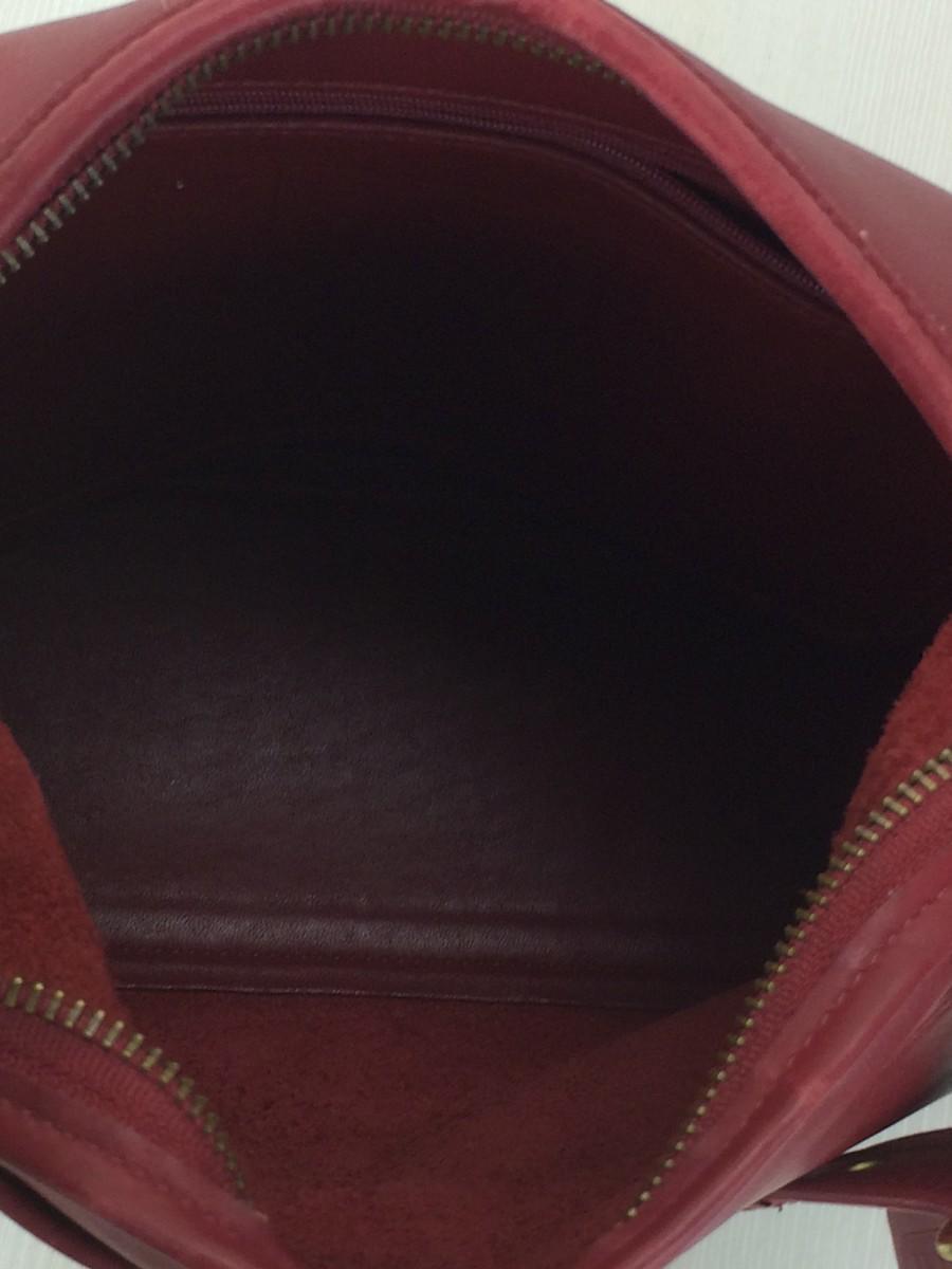 95987059ce5a ハンドバッグ/レザー/RED/革/赤/カバン/鞄/BAG/ショルダーバッグ/オールド/USA/