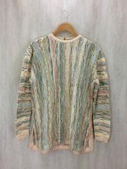 セーター(薄手)/S/コットン/マルチカラー