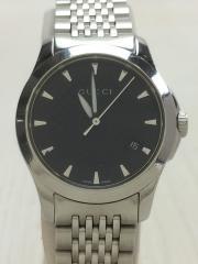 腕時計/アナログ/ステンレス/BLK