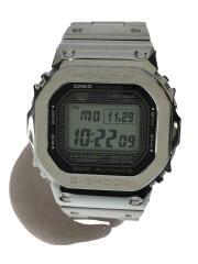 GMW-B5000/クォーツ腕時計/デジタル/ステンレス/BLK/SLV/フルメタル/Connected