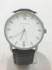 腕時計/アナログ/--/ホワイト/ブラック/CH8053