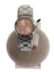 WICCA/ソーラー腕時計/アナログ/ステンレス/PNK/NA15-1209B