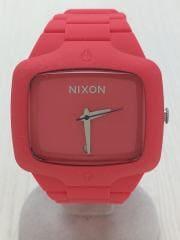 クォーツ腕時計/アナログ/--/RED