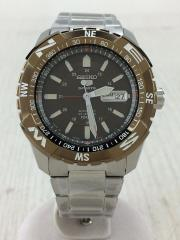 自動巻腕時計/アナログ/BLK/SLV/7S36-04M0/6N0799/セイコー5スポーツ