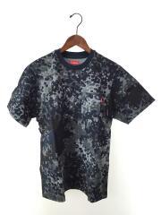 19SS/S/S pocket tee D2/Tシャツ/S/コットン/NVY/カモフラ