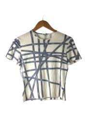 Tシャツ/S/レーヨン/WHT