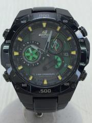 カシオ/エディフィス/EQW-M1100/ウォッチ/クロノグラフ/タフソーラー/電波時計/グリーン/緑