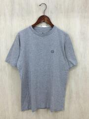Tシャツ/L/コットン/GRY