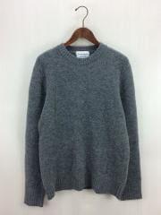 セーター(厚手)/42/ウール/GRY