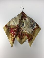 スカーフ/シルク/マルチカラー
