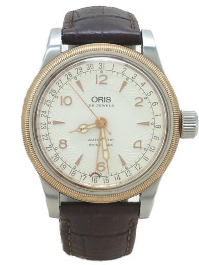 5c872a6018 ORIS(オリス) / ポインターデイト/自動巻腕時計/7543/ベルトダメージ ...