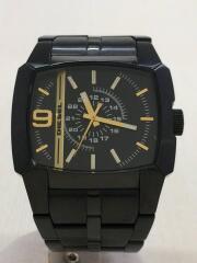 クォーツ腕時計/アナログ/--/BLK/BLK/DZ-