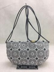 coupe bag/anemone/ショルダーバッグ/リネン/GRY/総柄/xs9425