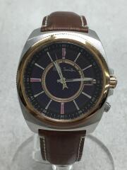 ソーラー腕時計/アナログ/レザー/H416-S084652