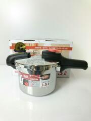 圧力鍋/3.5L/18cm/圧力切替式