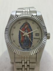 クォーツ腕時計/アナログ/ステンレス/マリア
