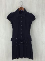半袖ワンピース/38/コットン/BLK