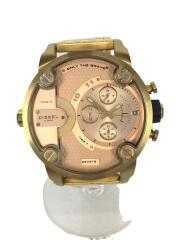 クォーツ腕時計/アナログ/ステンレス/GLD/GLD/SS