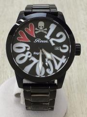 ×Angel Clover/クォーツ腕時計/アナログ/--/BLK