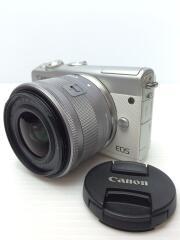 デジタル一眼カメラ EOS M100 ダブルズームキット [ホワイト]