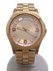 クォーツ腕時計/アナログ/MBM3232/ゴールド/PNK/PNK
