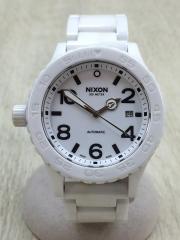 自動巻腕時計/アナログ/--/WHT/WHT