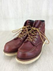 ブーツ/25.5cm/BRW/レザー