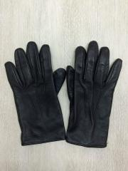 MERORA手袋/レザー/BLK/メンズ/size s/7.5/メローラ