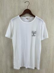 Tシャツ/XL/ポリエステル/WHT