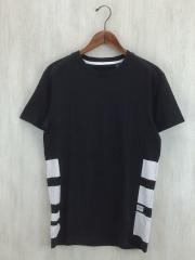 Tシャツ/XS/コットン/BLK
