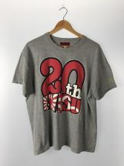 Tシャツ/42/コットン/GRY/20th記念Tシャツ