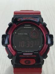 クォーツ腕時計・G-SHOCK/デジタル/RED