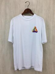 2017SS/17SS/P-3D T-Shirt White/Tシャツ/S/WHT/ロゴT/セカスト/ジャンブル