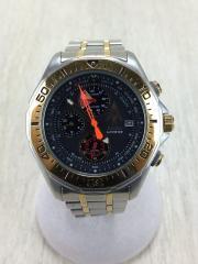 自動巻腕時計/アナログ/ブラック