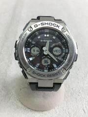 クォーツ腕時計/デジアナ/ラバー/GST-W1100/G-STEEL