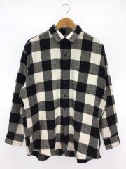 ネルシャツ/--/コットン/BLK/チェック/FAT Gigablok Shirt/20年モデル