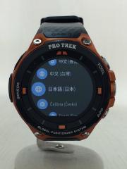 PRO TREK/プロトレック/腕時計/デジタル/ラバー/BLK