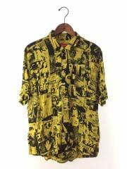 半袖シャツ/Vibrations Rayon Shirt/M/レーヨン/イエロー/18SS