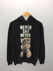 パーカー/NEVER SAY NEVER/M/コットン/ブラック/02144226