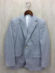テーラードジャケット/44/コットン/GRY