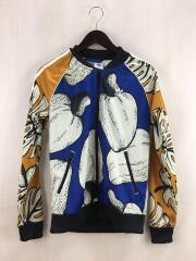 ジャケット/--/ポリエステル/マルチカラー/総柄