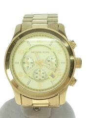 クォーツ腕時計/アナログ/ステンレス/GLD/GLD/MK-8077