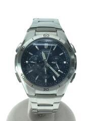 ソーラー腕時計・WAVECEPTOR/アナログ/SLV/WVQ-M410DE-2A2JF