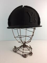キャップ/7 3/8/ウール/BLK/YM-H01-900/DOGEAR YS LOGO CAP