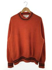 セーター(厚手)/50/ウール/オレンジ/M05HA0095 S16184