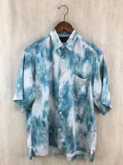 半袖シャツ/2/ポリエステル/ブルー/400302002