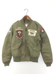 U.S.A.F.A. PATCHED L-2/フライトジャケット/M/ナイロン/KHK/6172111-98
