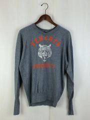 セーター(薄手)/3/コットン/GRY/全体的に使用感有/venerta