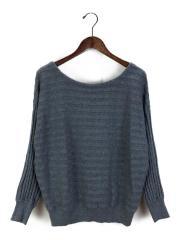 セーター(薄手)/FREE/コットン/GRY/266715